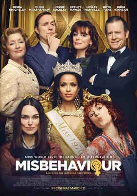 『Misbehaviour(原題)』のポスター