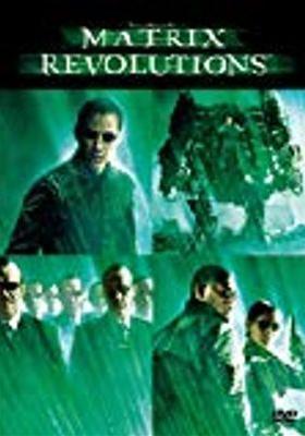 『マトリックス レボリューションズ』のポスター