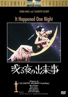 『或る夜の出来事(1934)』のポスター