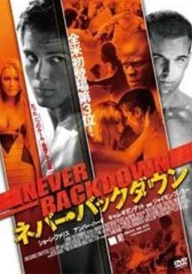 Never Back Down's Poster