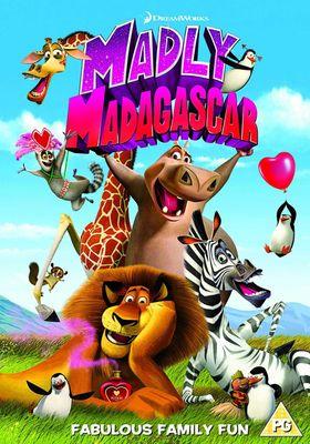 『Madly Madagascar』のポスター