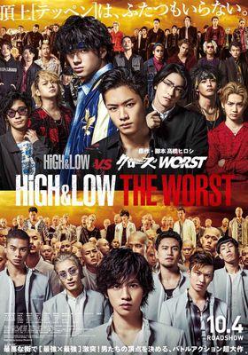 『HiGH&LOW THE WORST』のポスター
