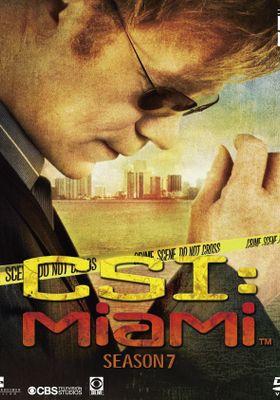 『CSI:マイアミ シーズン7』のポスター