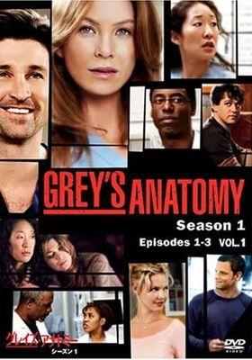 Grey's Anatomy Season 1's Poster