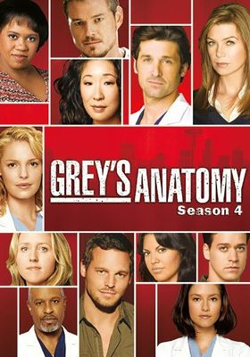Grey's Anatomy Season 4's Poster