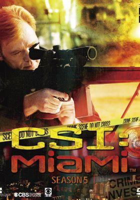 『CSI:マイアミ  シーズン5』のポスター