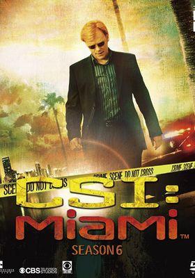 『CSI:マイアミ シーズン6』のポスター