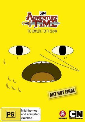 『アドベンチャー・タイム シーズン10』のポスター