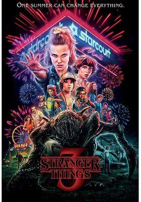 『ストレンジャー・シングス 未知の世界 シーズン3』のポスター