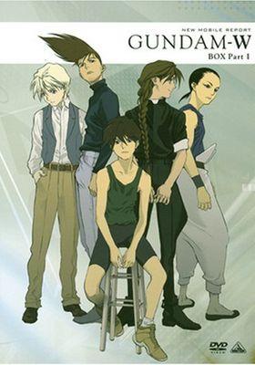 New Mobile Report Gundam W's Poster