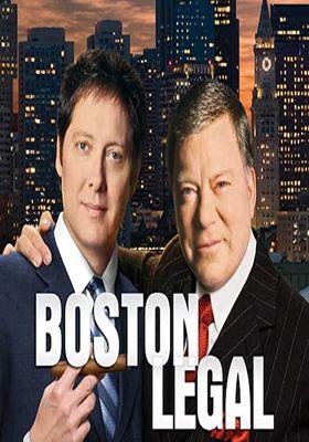Boston Legal Season 5's Poster