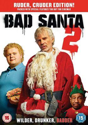 『バッドサンタ2』のポスター