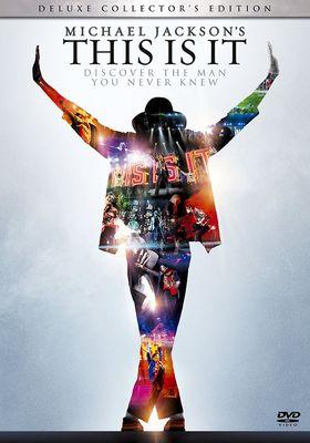 마이클 잭슨의 디스 이즈 잇의 포스터