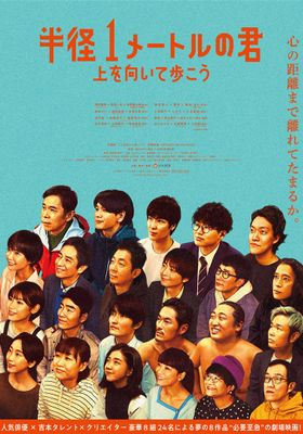 Hankei Ichi-meter no Kimi: Ue o Muite Aruko's Poster