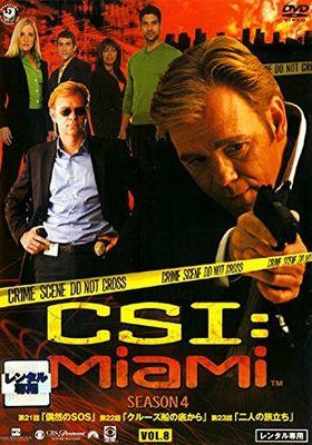 CSI: Miami Season 4's Poster
