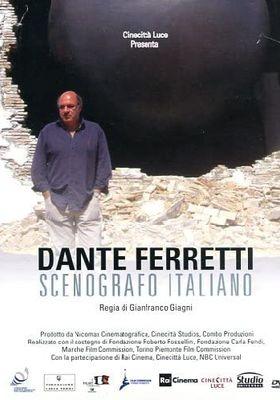 단테 페레티: 프로덕션 디자이너의 포스터