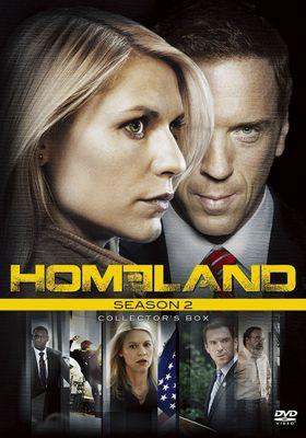 홈랜드 시즌 2의 포스터